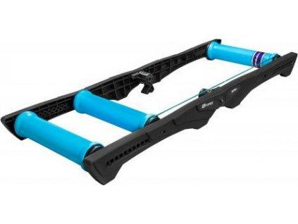 Cyklotrenažér FORCE SPIN valcový, plast, čierno-modrý