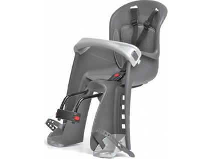 sedačka Polisport Bilbi Junior přední šedo-stříbrná