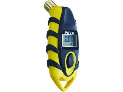 měřič tlaku BETO digitální žlutý