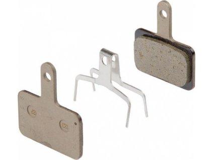brzdové destičky Shimano Deore, Alivio, Acera B01S polymer servisní balení
