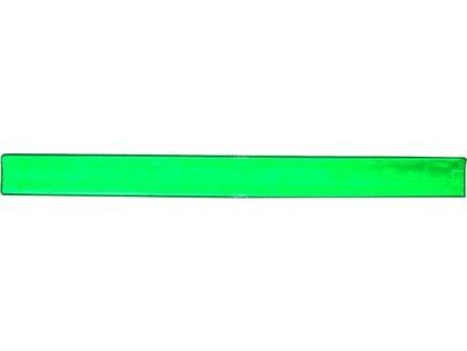 Reflexná páska, samonavíjacia 3x34 cm žltá