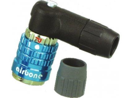 Adaptér ventilku Airbone ZT-A15 p.všechny ventily,úhel 90stupnu AV/SV/DV