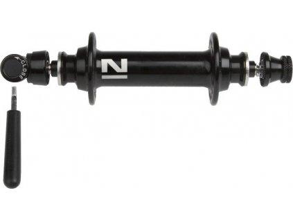 náboj Novatec A291SB Al 20d přední černý