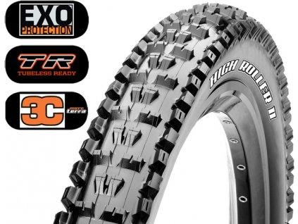 Plášť MAXXIS High Roller II 29 x 2.50 WT kevlar EXO TR 3C Maxx Terra