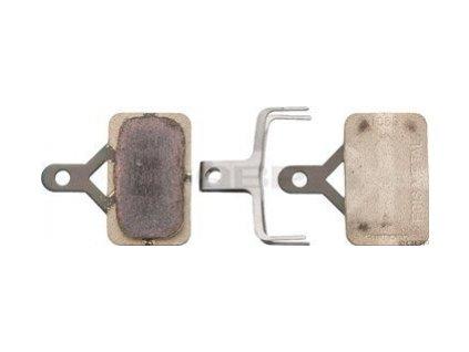 brzdové destičky Shimano XT, XTR, SLX E01S kovové original balení