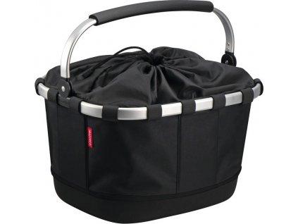City-brašna KLICKfix Carrybag na nosic cerná, 42x33x28cm, pro Racktime