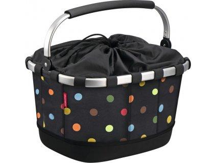 City-brašna KLICKfix Carrybag na nosic dots, 42x33x28cm, pro Racktime
