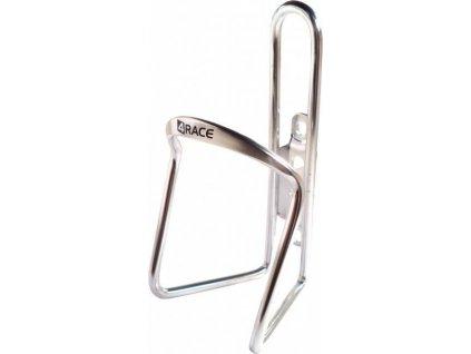 košík 4RACE Al stříbrný