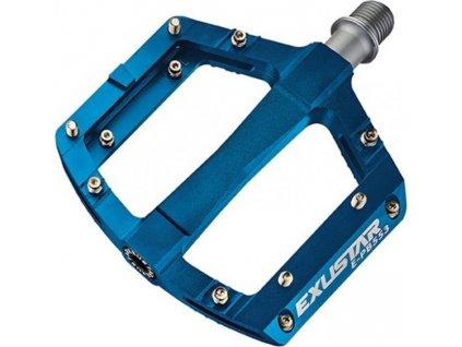 pedály BMX EXUSTAR PB553 modré