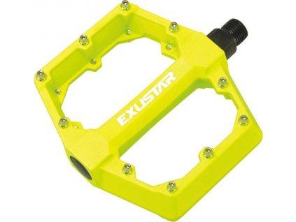 pedály BMX EXUSTAR PB70-1-YL žluté