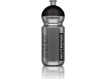 lahev Nutrend 500ml stříbrná