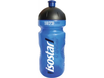 lahev ISOSTAR 650ml push pull modrá