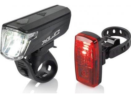 XLC Comp sada osvetlení Capella CL-S20 s StVZO pro všechna kola