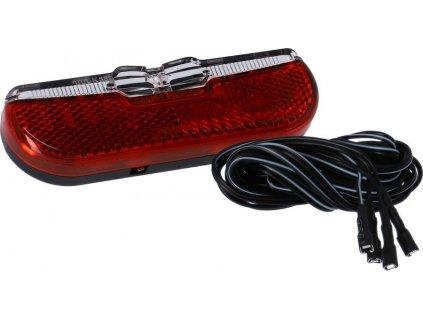 LED-dynamo-zadní svetlo Trelock Duo Flat LS 611,Duo Flat,6-12V