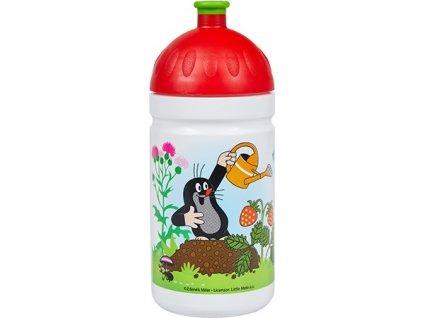 lahev R&B Krtek a jahody 500ml červené