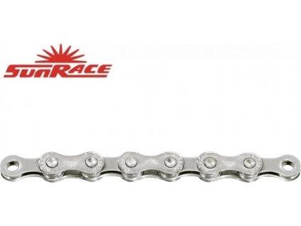 řetěz SunRace CN12A 12k 126čl. stříbrný
