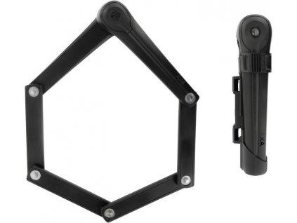 Skládací zámek Axa Fold 85 Délka 85cm, tlouštka 6mm, tmave šedá