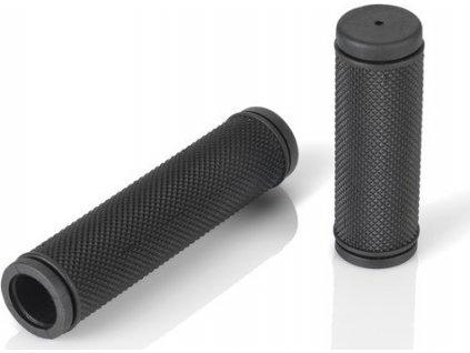 XLC gripy single density 130/92mm cerná pro otocný grip pravý