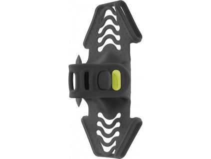 Smartphone držák Bone Bike Tie Pro 2 cerná, montáž na predstavec, 65x133x40mm