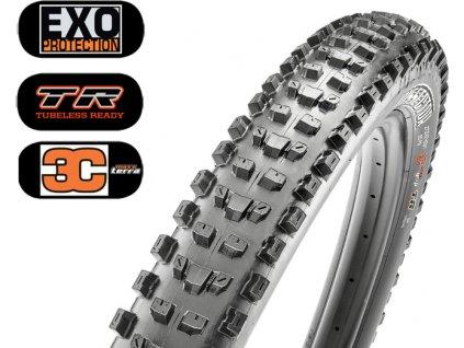 Plášť MAXXIS Dissector 27.5 x 2.40 WT kevlar EXO TR 3C Maxx Terra