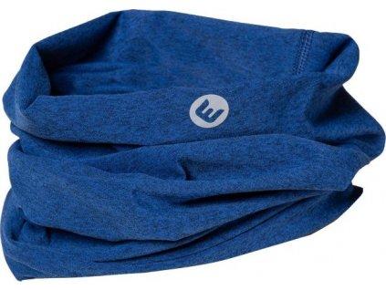 šátek Progress  D TR  NECK modrý melír