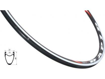 Ráfik Remerx RAPID 622x14 čierny GBS 28H