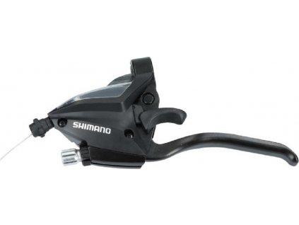 Rad+brzd.pácka Shimano ST-EF 500 4-prstá 3-st. levá,V-Brake,1800mm,cerná