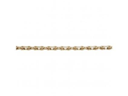 řetěz KMC X12 zlatý 126čl. BOX