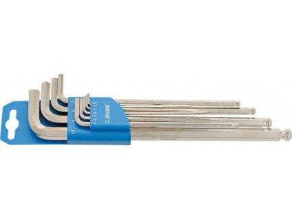 Sada klícu se šestihranemUnior dlouhý Umelá hmota clip, 1,5-10mm, 220/3SLPH