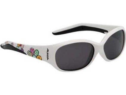 ALPINA Detské okuliare FLEXXY KIDS  - modré-psík; sklá: čierne S3