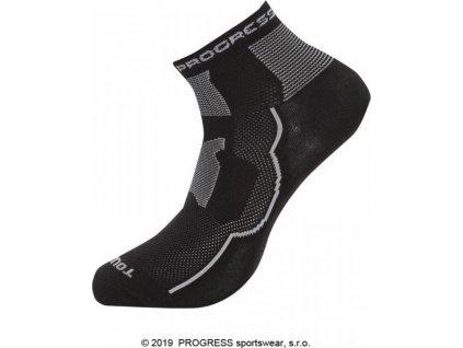 ponožky Progress TOURIST černé