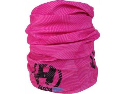 šátek-tunel HAVEN Fascia adult pink - růžový