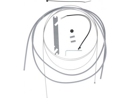 XLC Radící lanko-sada Nexus4/7/8 1700/2250mm 1 nipl stríbrná