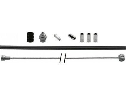 XLC Brzdové lanko-sada Universal 1700/2350mm Ø1,5mmvc. 2 niplu cerná