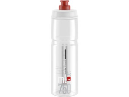 lahev ELITE Jet Clear červené logo, 750 ml