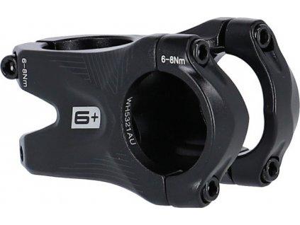 A-Head Predstavec Ergotec BASS Hliník,cerná, 45mm, Ø28,6mm/Ø31,8mm