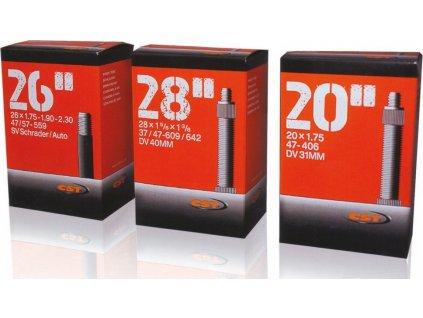 """Duša CST 27.5x1.90-2.10"""" 47/54-584 AV40mm"""