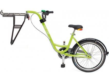 Trailer add + bike by Roland zelená, bez razení s volnobehem