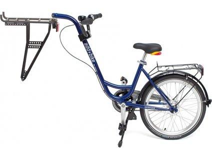 Trailer add + bike by Roland modrá, 3-r. Razení v náboji s volnobehem