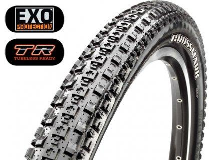 Plášť MAXXIS CrossMark 27.5x2.10 kevlar EXO TR DC