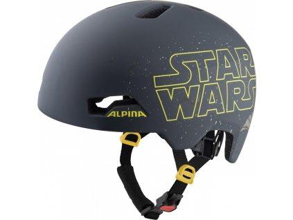 ALPINA Cyklistická prilba HACKNEY DISNEY Star Wars - Veľkosť : S, 47-51 cm