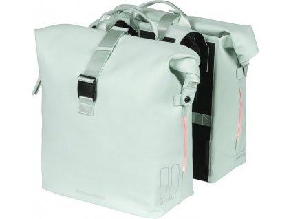 Dvojitá taška  Basil SoHo Nordlicht pastel.zelená, 31x13x37cm
