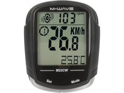 computer M-Wave M23CW 23 funkcí černý