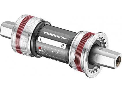 Stredové složení TOKEN ITAL JIS 4-hran 113,5mm 70mm(2-st./3-st. Road/3-st. MTB)