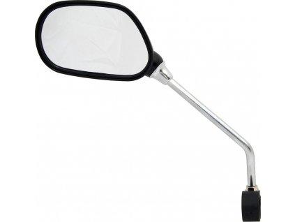 FORCE zpätné zrkadlo na riadítka, ľavé, čierne
