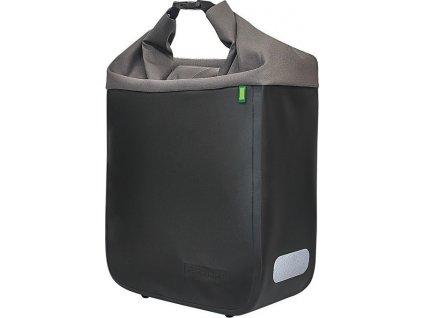 Racktime Bocní taškaDonna onyx cerná/basalt šedá