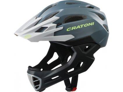 Cykl. helma Cratoni C-Maniac (Freeride) Vel. M/L (54-58cm) antracit/cerná mat.