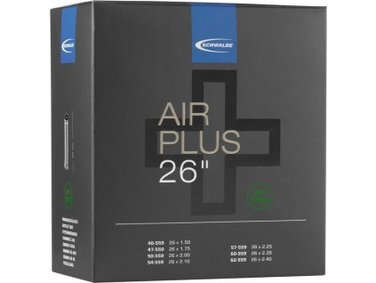 "Duše Schwalbe AV 13AP Air Plus 26x1.50-2.50"" 40/62-559 IB AGV 40mm"