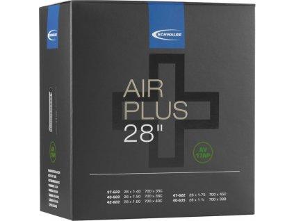"Duše Schwalbe AV 17AP Air Plus 28"" 37/47-622/635 IB AGV 40mm"