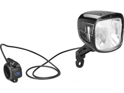 LED-svetlo b&m IQ-XL 300/250 Lux cerná pro E-Bike